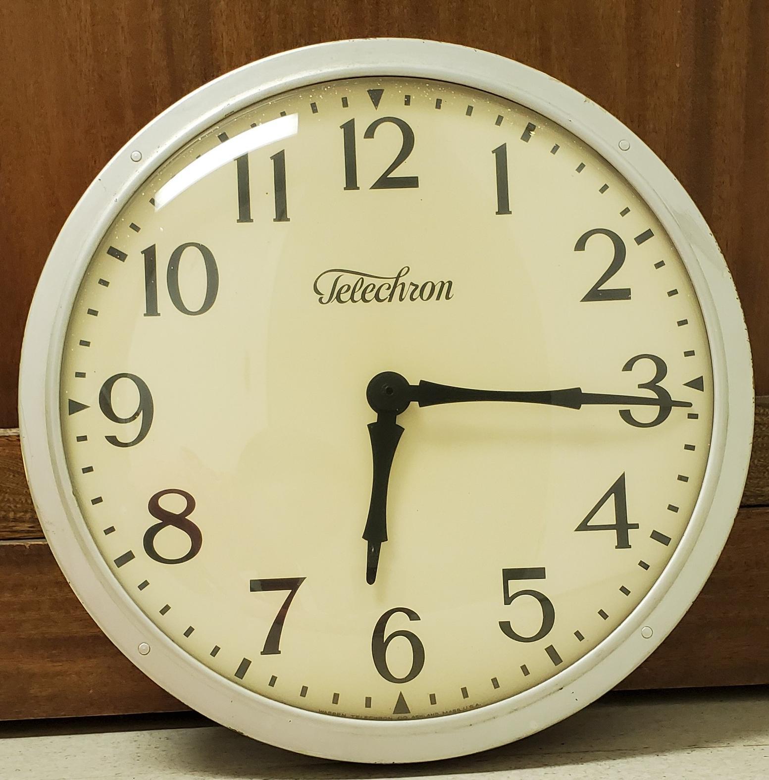 Telechron School Clock -000