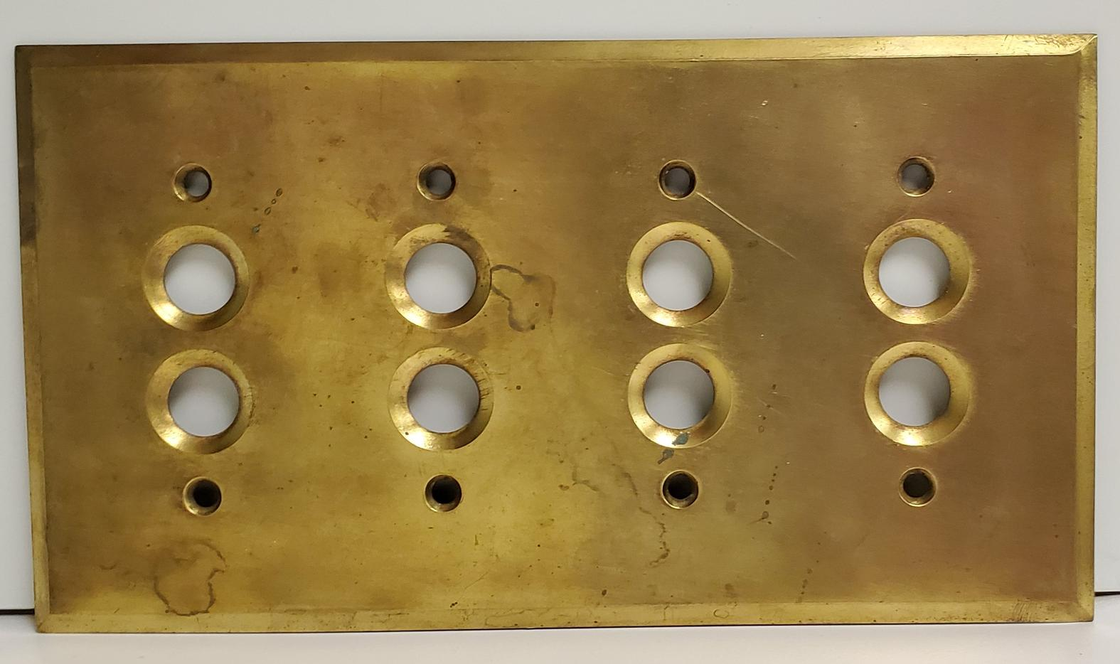 Push Button Switch Plate Cover -000