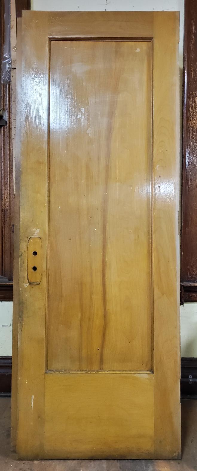 30 in Single Panel School Door