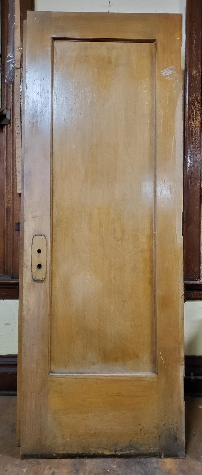 29.75 in Single Panel School Door