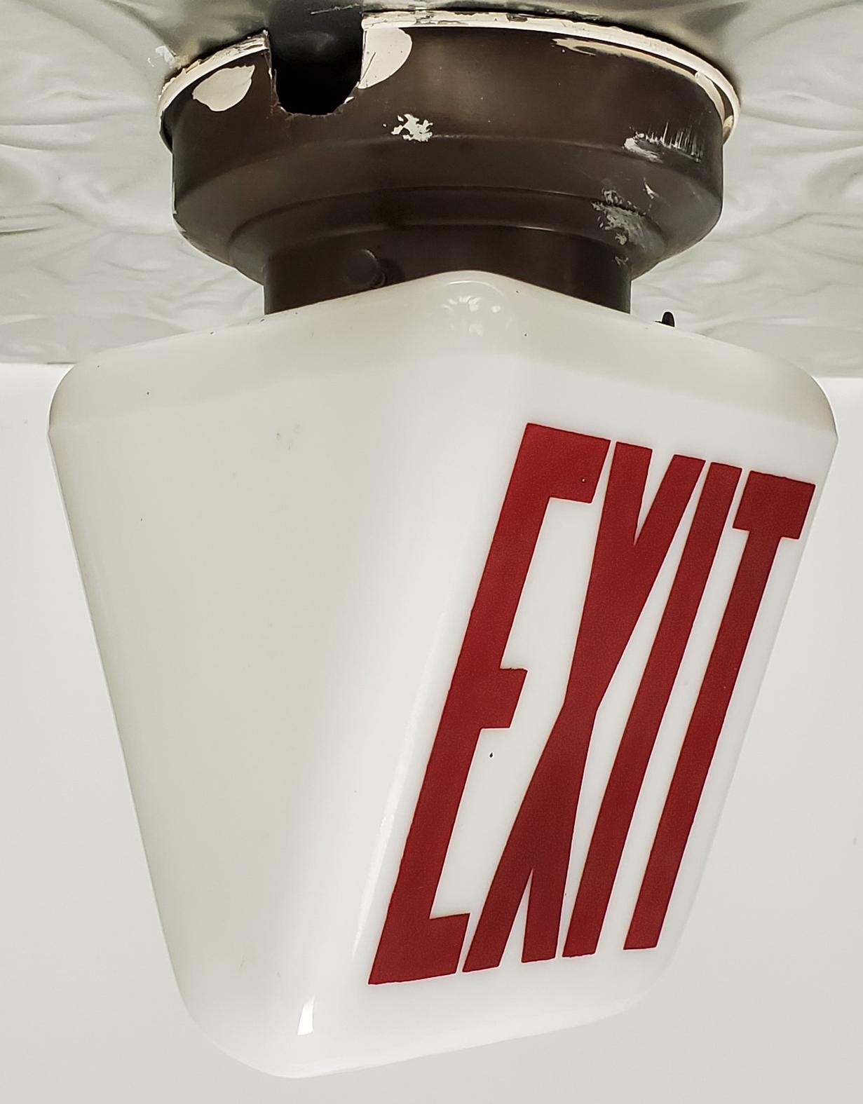 EXIT Light Sign -002