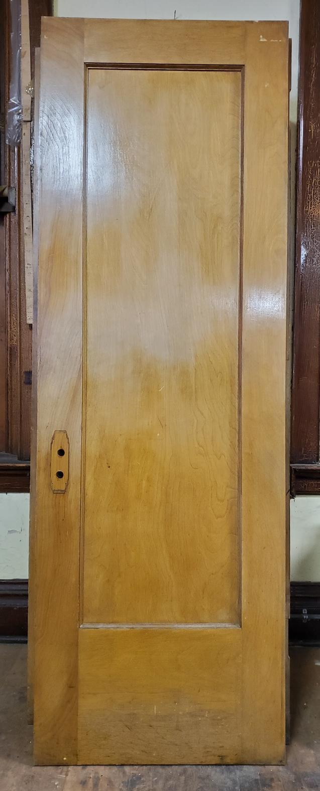 Two - 27.75 in Single Panel School Door-s
