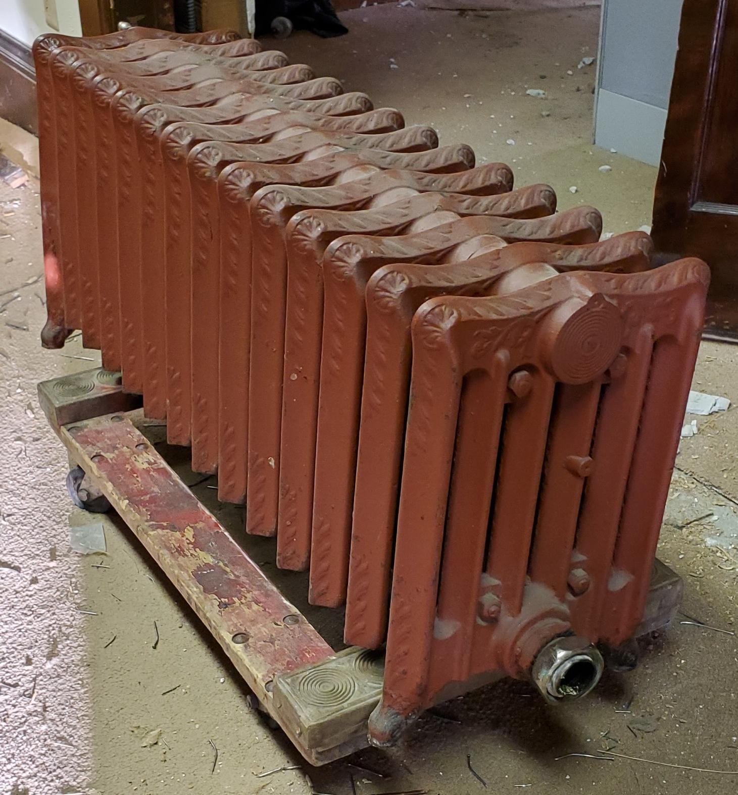 Radiator-s Fourteen fin decorative