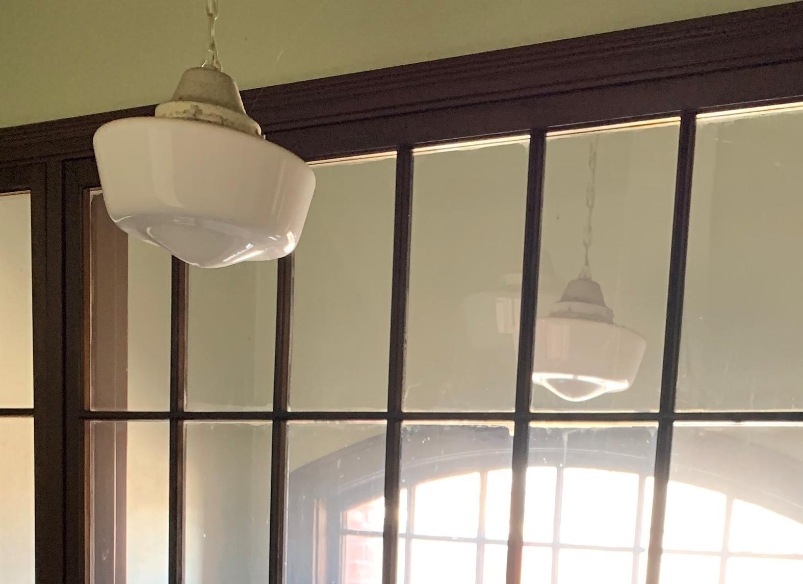 School House Globes Light Fixtures