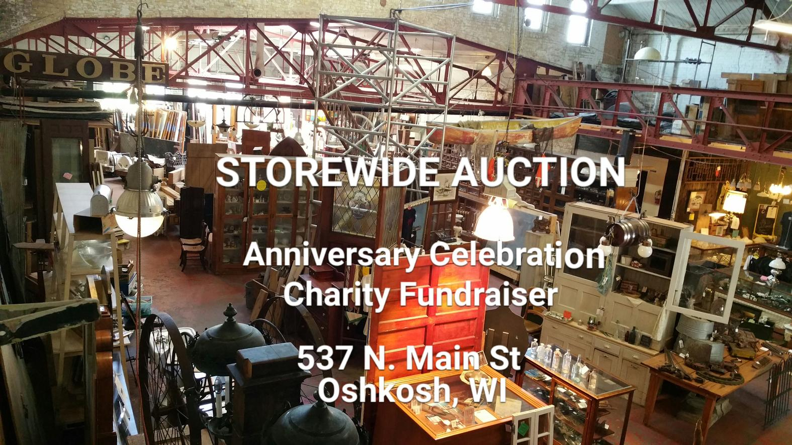 Storewide Auction Anniversary Celebration
