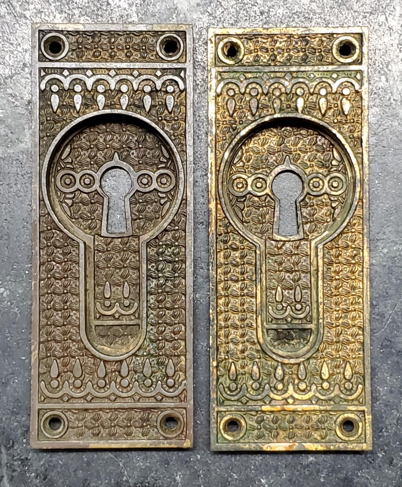 Pair Pocket Door Handles