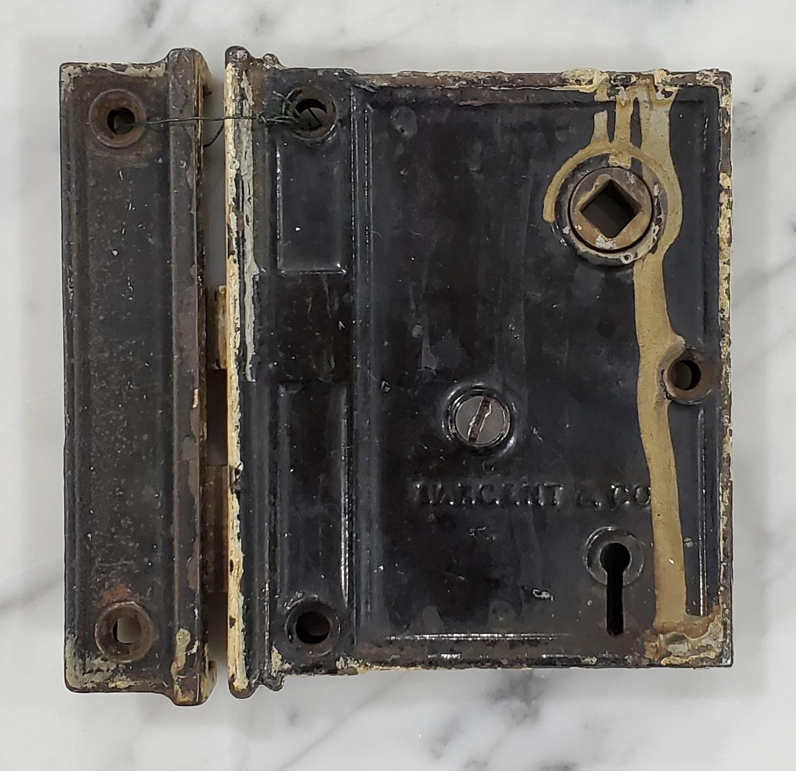 Rim Lock SARGENT & CO with Receiver