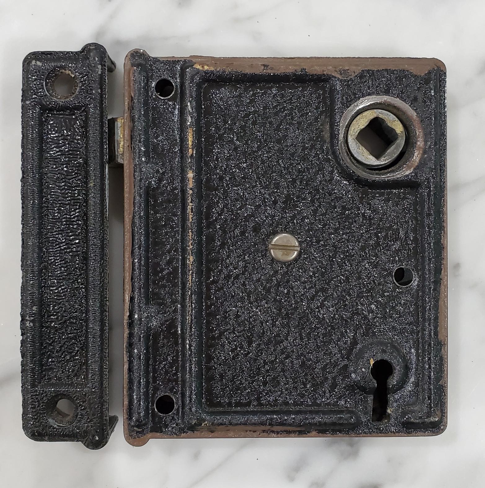 Rim Lock with Receiver -005