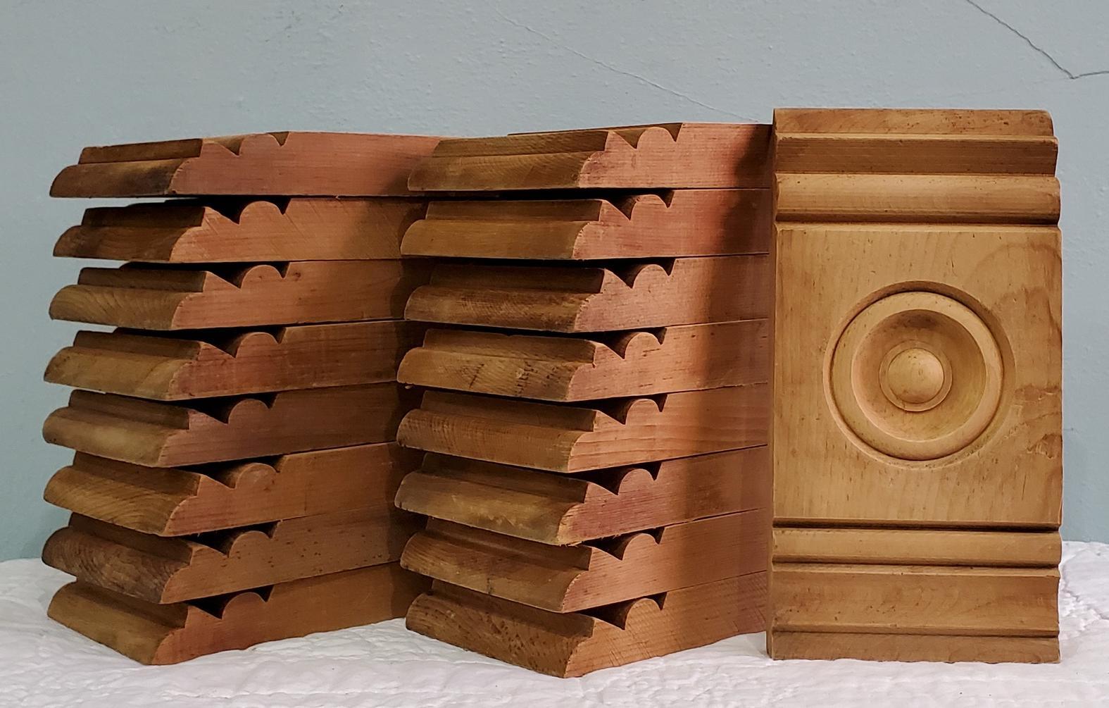 Bullseye Plinth Block-s 5 W x 10 H  -005