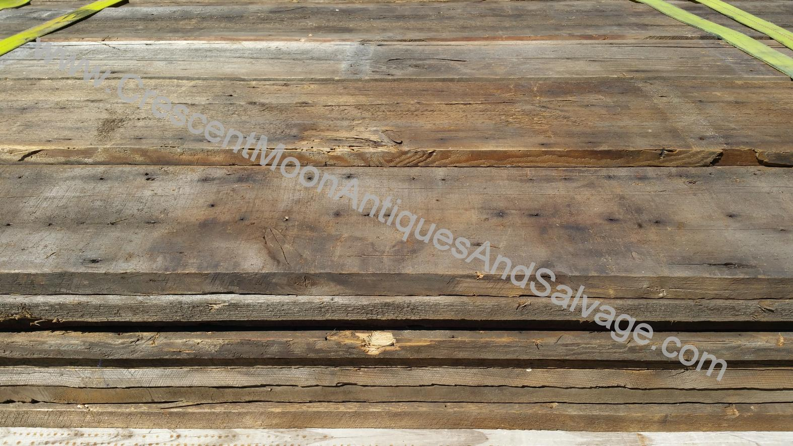 Barn Roof Decking Wood Crescent Moon Antiques And Salvage