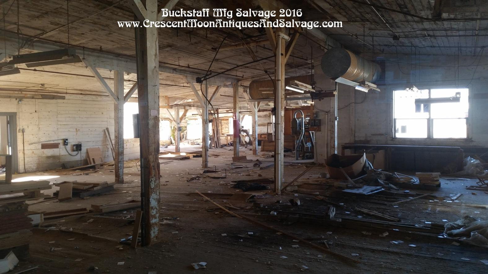 Buckstaff Mfg Salvage