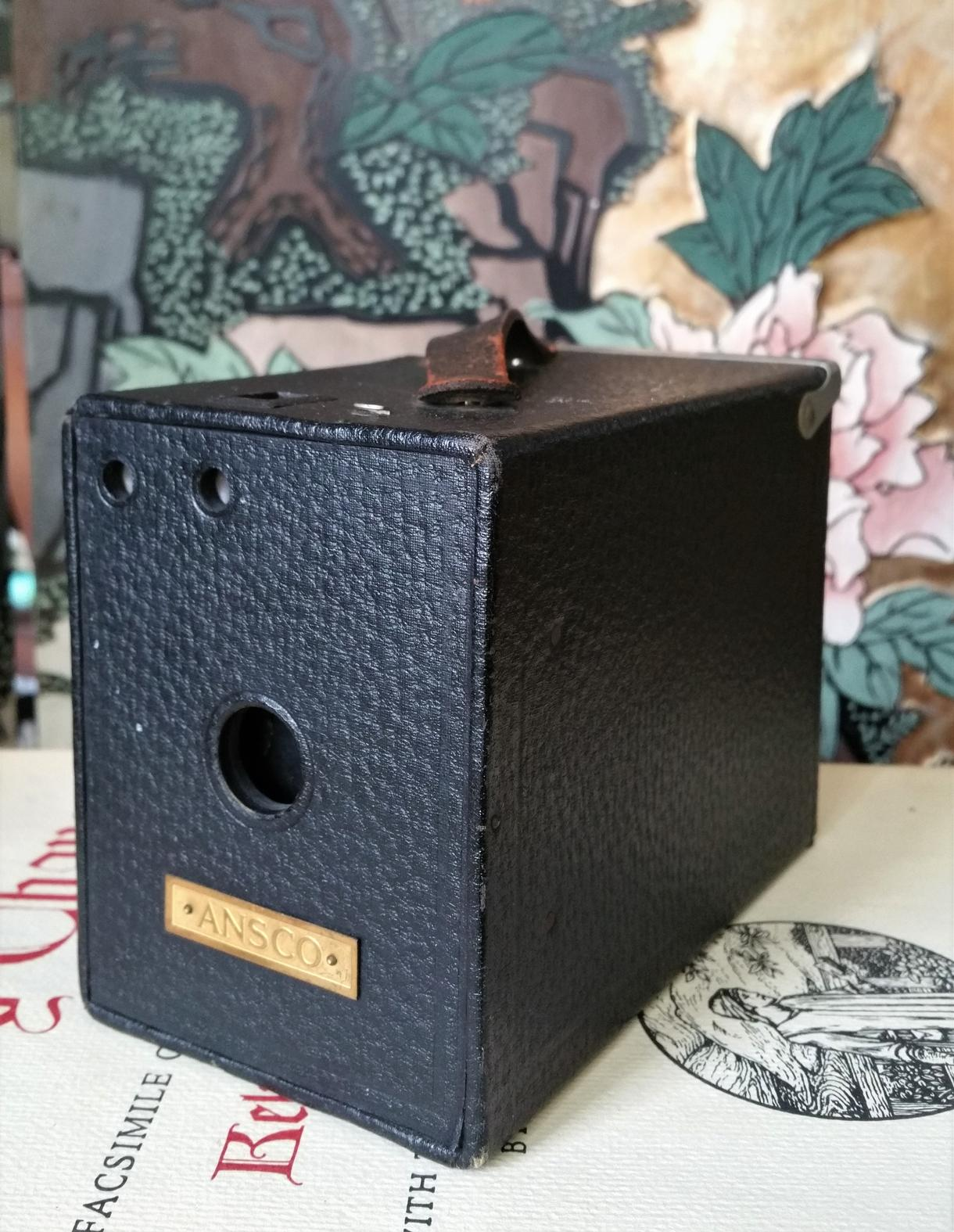 Antique Ansco No 2 Box Camera