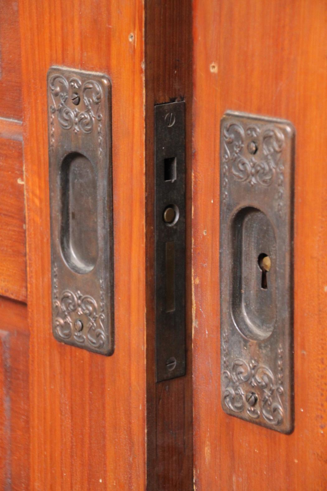 Pair Five Panel Pocket Doors W Hardware Quot Barn Doors