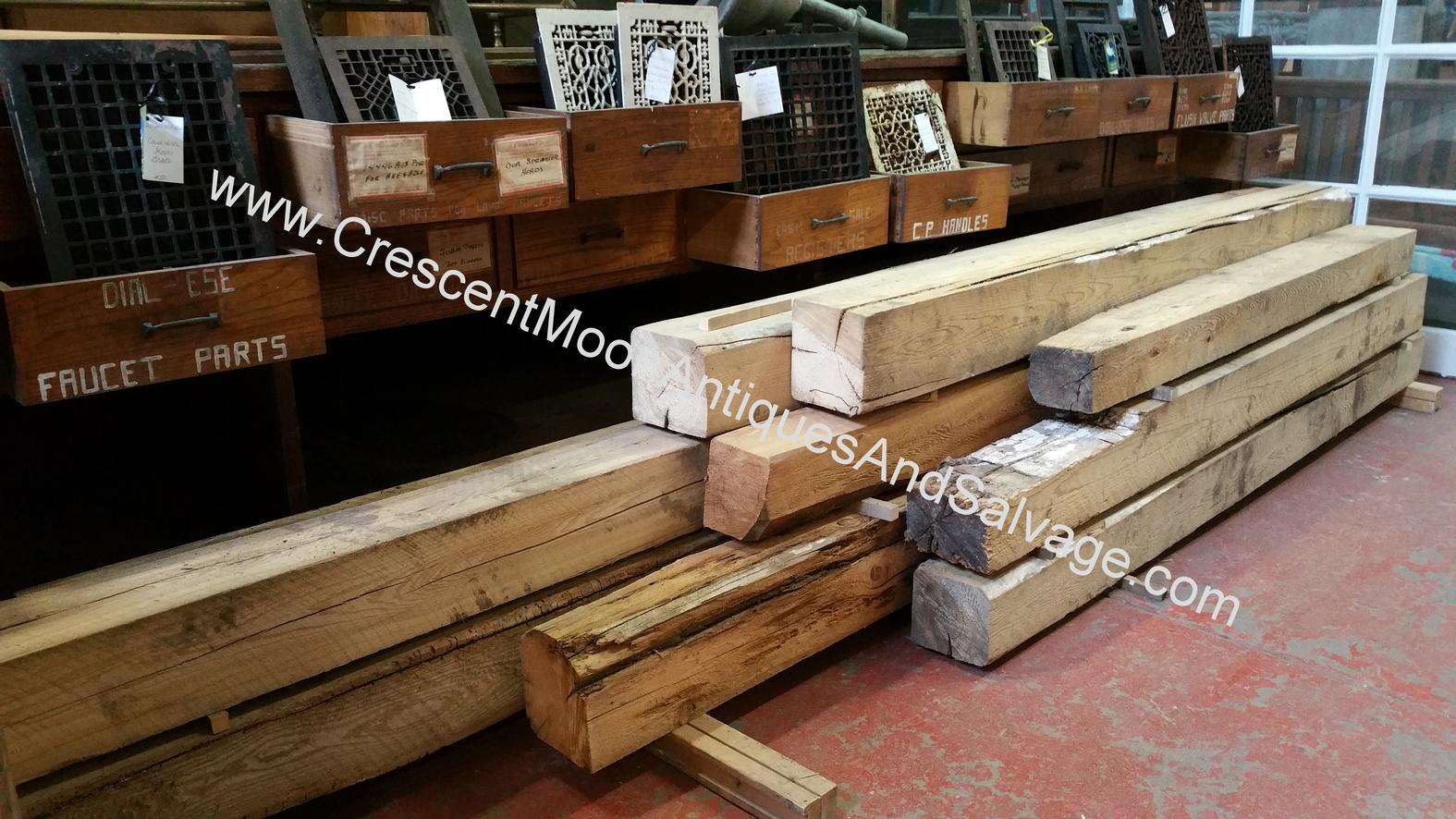 Beams - mixed hardwood/s