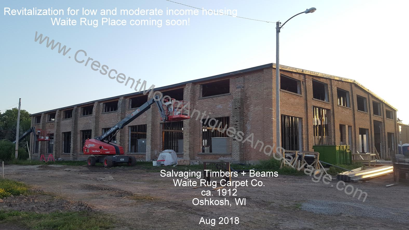 Salvage Timbers and Beams